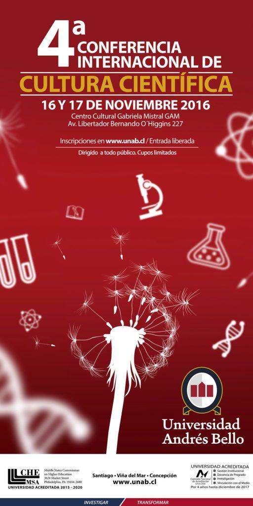 banner conferencia 2016 cultura cientifica
