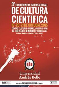 banner Conferencia 2015 cultura cientifica